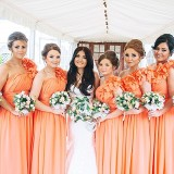 A Glam Coral Wedding at The Thistle (c) Rachel Victoria Photography (28)