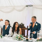 A Glam Coral Wedding at The Thistle (c) Rachel Victoria Photography (40)