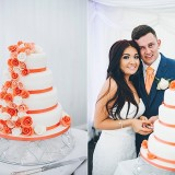 A Glam Coral Wedding at The Thistle (c) Rachel Victoria Photography (45)