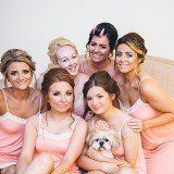 A Glam Coral Wedding at The Thistle (c) Rachel Victoria Photography (5)