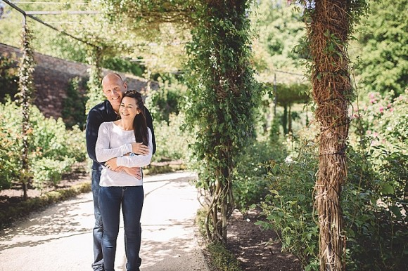 An engagement shoot at The Alnwick Garden (c) Julie Barron Photography  (4)