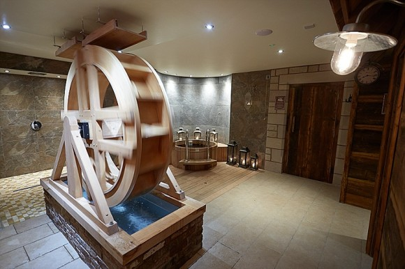 blissed out bride: mill wheel spa