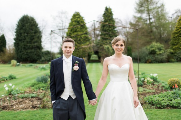 chic-onomics. augusta Jones for an elegant wedding at lartington hall – jessica & chris