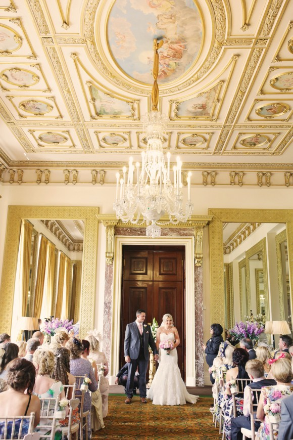 A Pretty Pastel Wedding at Wynyard Hall (c) Helen Russell Photography (21)
