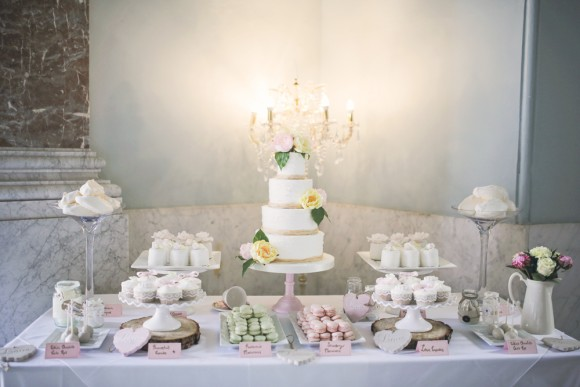 A Pretty Pastel Wedding at Wynyard Hall (c) Helen Russell Photography (42)