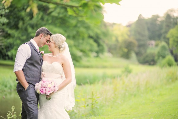A Pretty Pastel Wedding at Wynyard Hall (c) Helen Russell Photography (69)