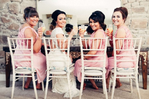 A Pretty Pink Wedding at Newton Hall (c) Paul Liddement Wedding Stories (28)
