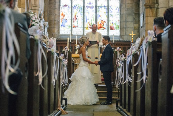 rustic romance. roses & gypsophila for a relaxed wedding in yorkshire – jo & ashley