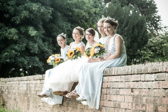 here comes the sun. a relaxed & rustic wedding at hirst priory – lucy & ryan