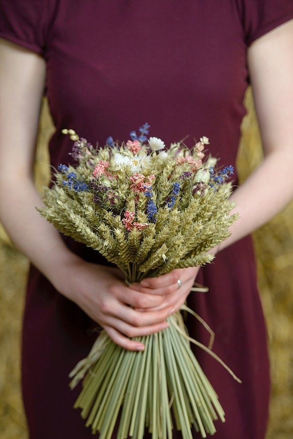 ShropshirePetals.com Country Garden Wheat Sheaf as bouquet£27.50 (2)