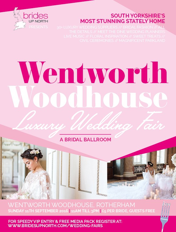 #bridesquad: you're invited to our stunning luxury wedding exhibition at wentworth woodhouse