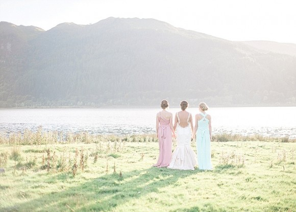 lakeside love-in. a pretty pastel styled shoot in cumbria