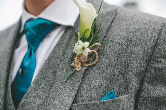 A Teal Wedding at Holdsworth House (c) Ellie Grace Photography (50)