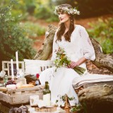 An Autumnal Boho Styled Shoot by Key Reflections for KMR Bespoke Bridal(15)
