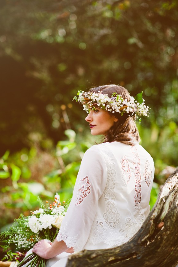 An Autumnal Boho Styled Shoot by Key Reflections for KMR Bespoke Bridal(22)
