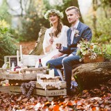 An Autumnal Boho Styled Shoot by Key Reflections for KMR Bespoke Bridal(24)