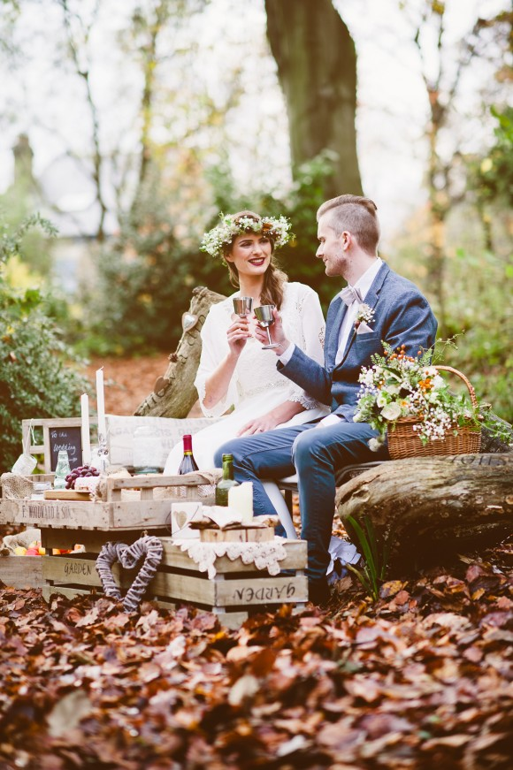 An Autumnal Boho Styled Shoot by Key Reflections for KMR Bespoke Bridal(25)