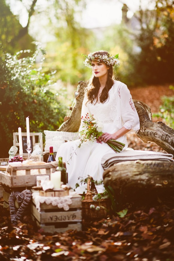 An Autumnal Boho Styled Shoot by Key Reflections for KMR Bespoke Bridal(7)