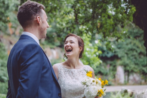 hello sunshine. mori lee for a yellow themed wedding in the north west – clare & charlie