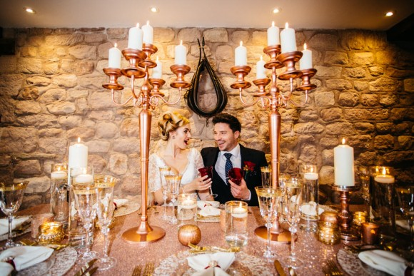 festive fancy. a glamorous winter styled shoot at heaton house farm