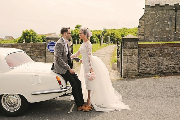 A Pretty Vintage Wedding at Lumley Castle (c) Helen Russell Photography (14)
