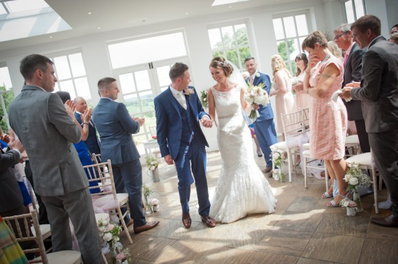 a pretty pink rustic wedding at woodhill hall
