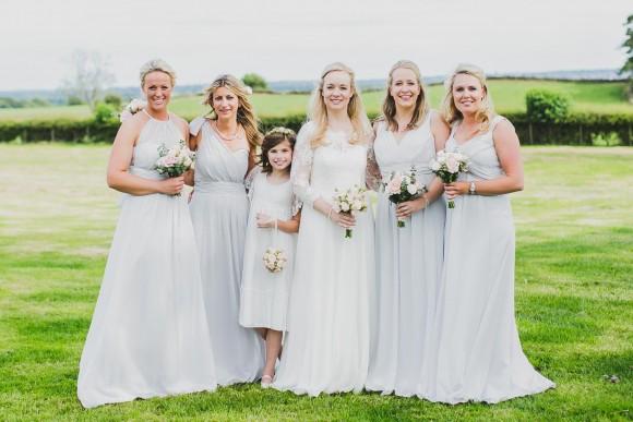 pastels & petals. a bespoke emma hunt dress for an elegant wedding in north yorkshire – emma & jamie
