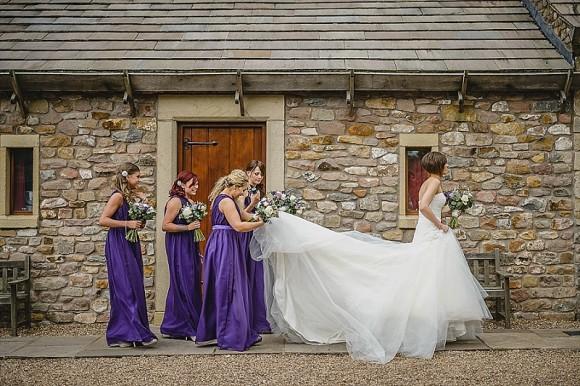 vintage bling. la sposa for a wedding at browsholme hall – ashleigh & shaun