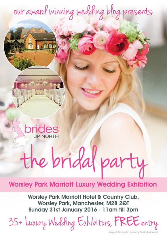 win a wedding at worsley park marriott worth over 20k with the manchester evening news!