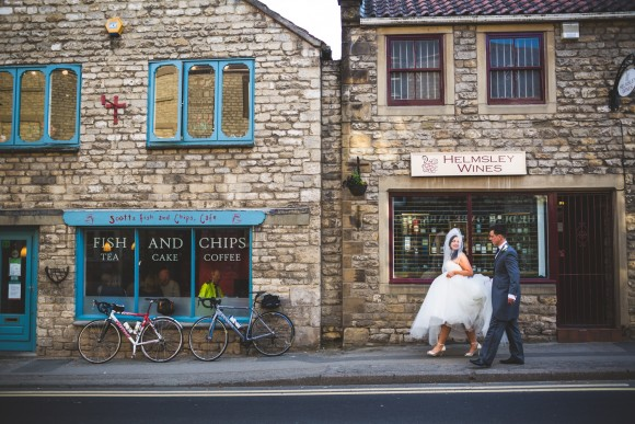 princess perfect. a navy and ivory wedding at the black swan, helmsley – emma & adam