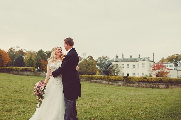 real wedding recap: a pink & gold wedding at lartington hall – florence & stephen