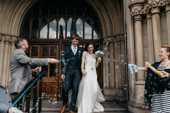 let the music play. jenny packham for a vintage wedding at the bowdon rooms – amy & rob
