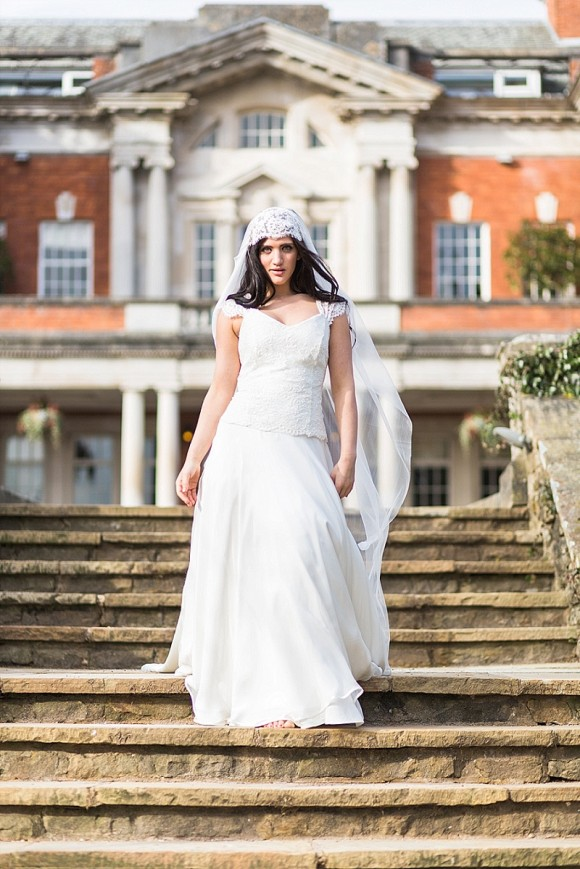 pure & pretty: introducing rebecca juliet bridal
