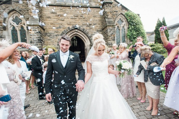 understated glamour. sassi holford for classic wedding at rudding park – michaela & ben