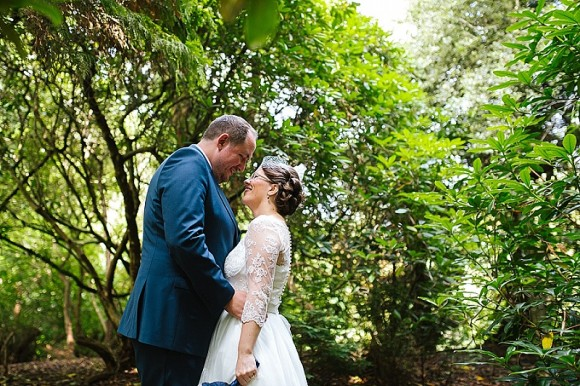 show stoppers. a bespoke dress for an eclectic wedding at the bowdon rooms – emma & chris