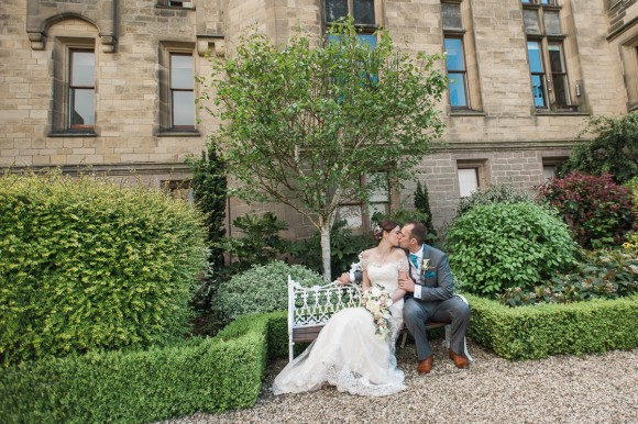 under the sea. maggie sottero for a teal wedding at allerton castle – nicola & nick