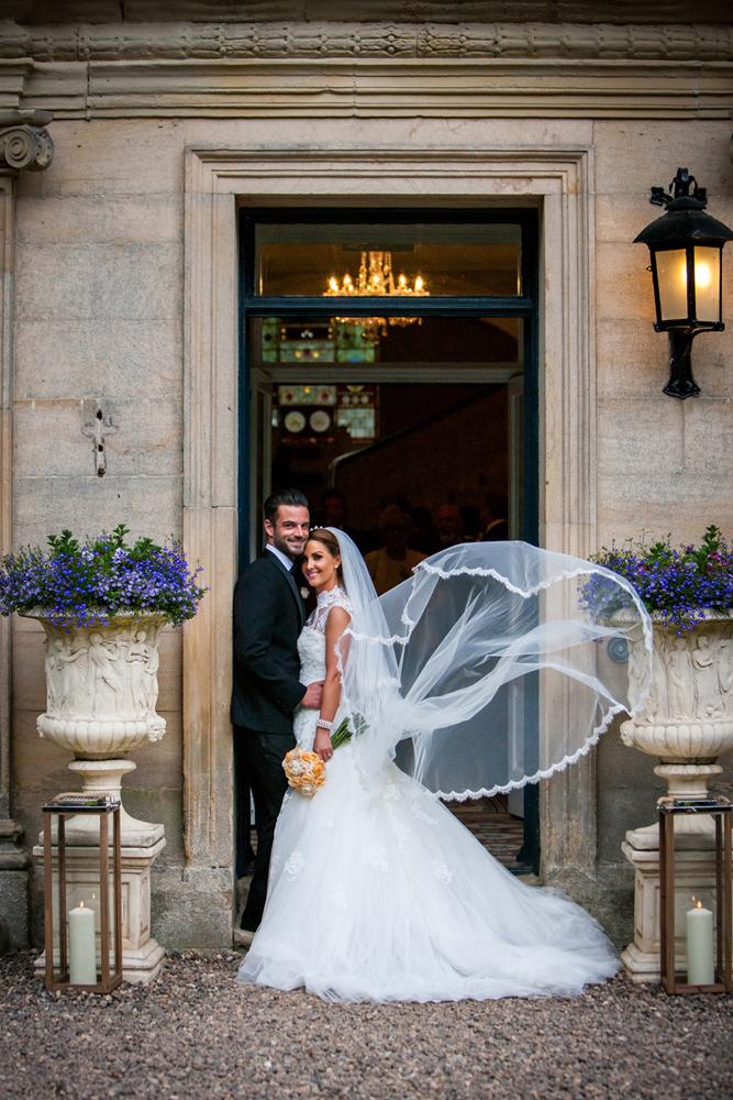 Pronovias For Classic Wedding At Eshott Hall