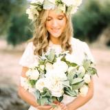 Odile front bouquet detail