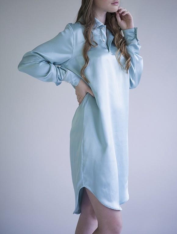 Silk nightshirt