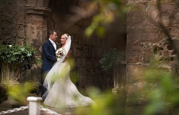 pastel pretty. justin alexander for a romantic wedding at lumley castle – sarah & richy