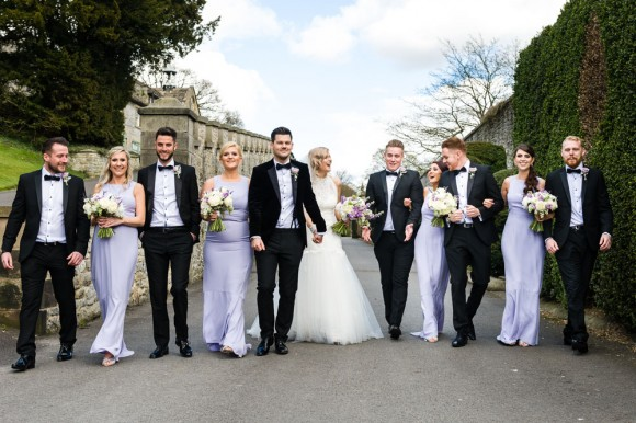 A Black Tie Wedding at Hassop Hall (c) Shoot Lifestyle Wedding Photography (88)