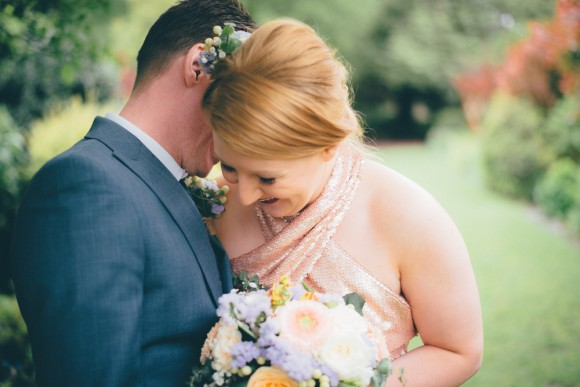 rose gold: a wedding anniversary shoot in manchester