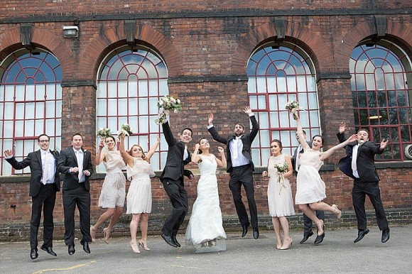 city love. mori lee for a sheffield themed wedding at kelham island museum – sian & joe