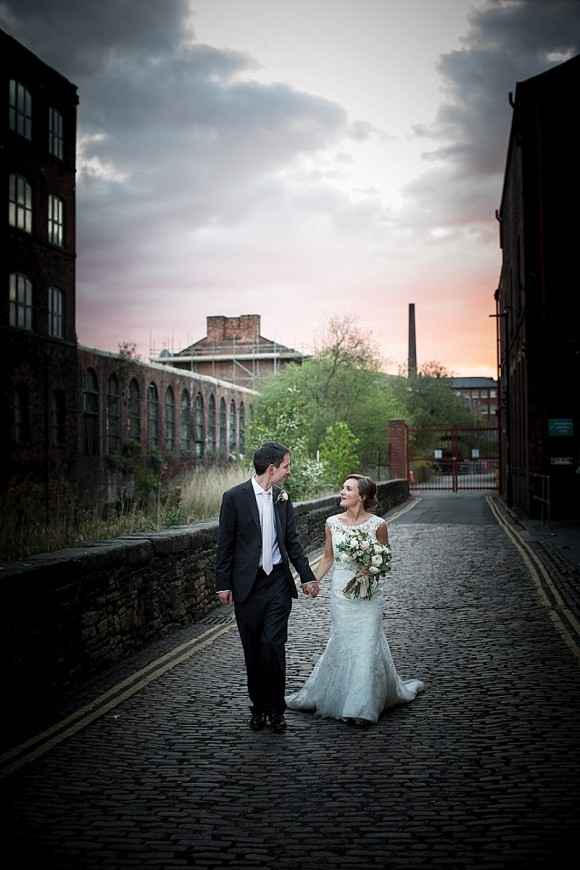 Mori Lee For A Sheffield Wedding At Kelham Island Museum