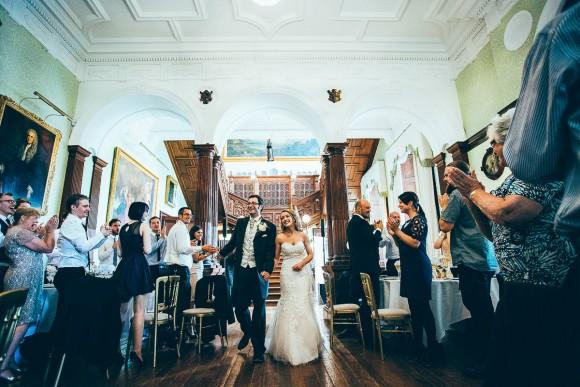 An Emotive Beautiful Wedding At Sandon Hall C Fairclough Photography