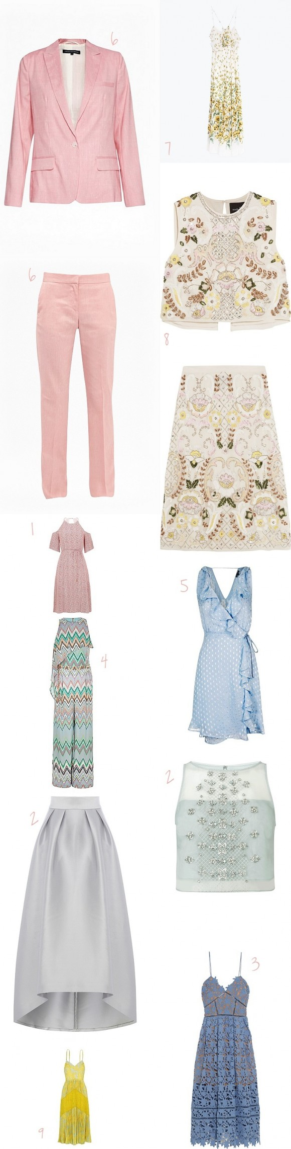 Summer Wedding High Street Haul - The Threads