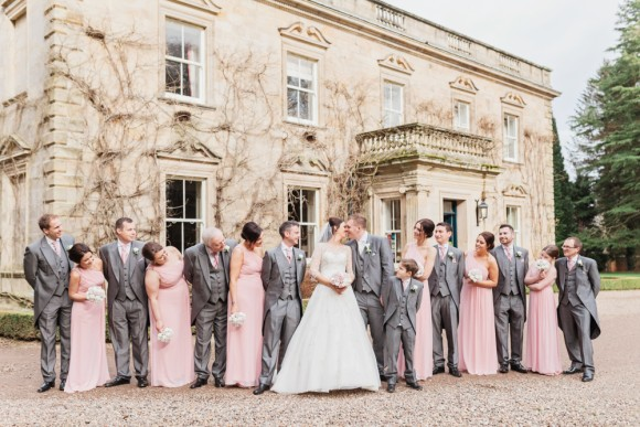 all loved-up. ronald joyce for an elegant wedding at eshott hall – jill & thomas