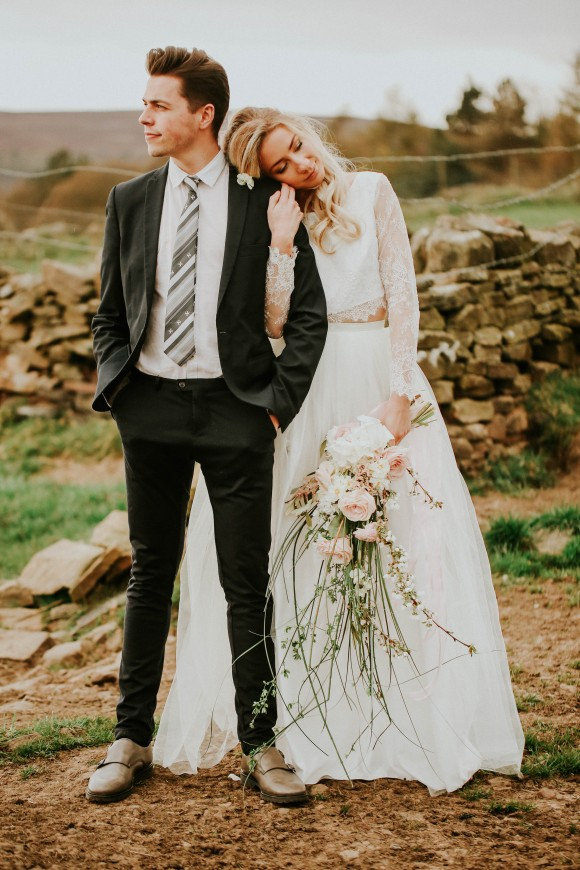rural romance: a styled shoot in sheffield