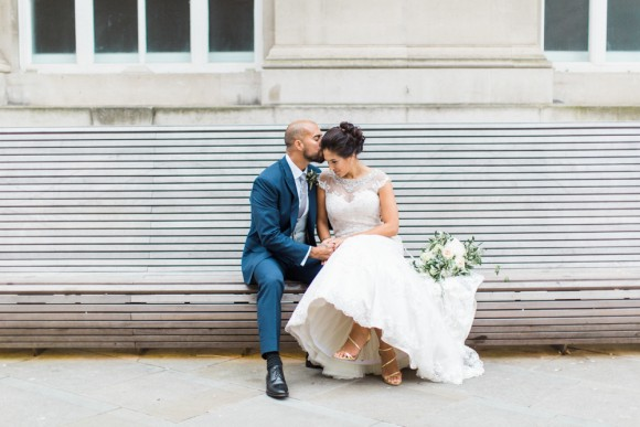 real wedding recap  mori lee for a stylish wedding in manchester – chorcha & glen
