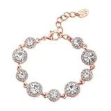 GlitzySecrets.com - Rose Gold Starlet Bracelet